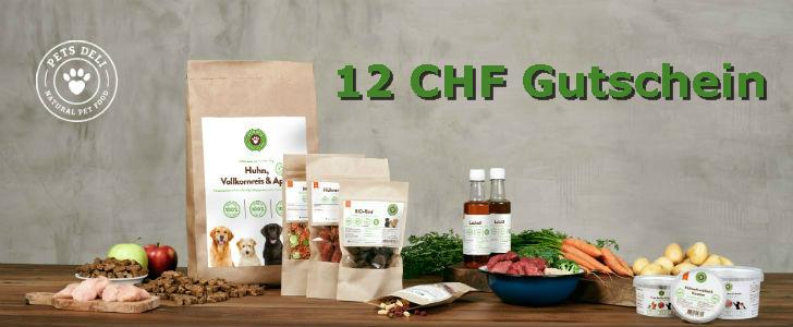 12 CHF Gratis Versand Gutschein