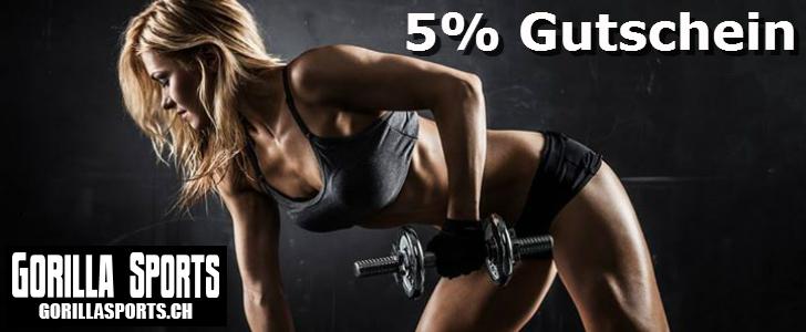 5% Gorilla Sports Gutschein