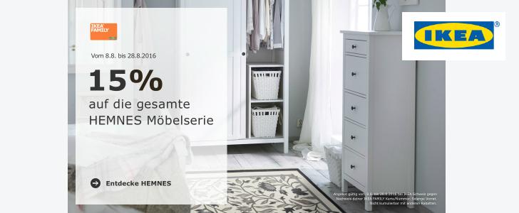 15% Rabatt bei IKEA sichern