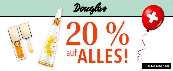 20% bei Douglas sichern