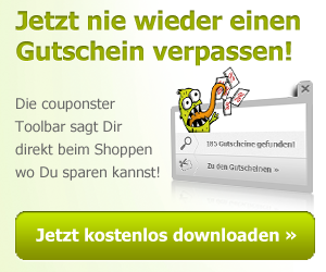 Gutschein Browser Plugin von couponster