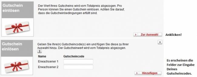 Gutschein-Hilfe Swiss