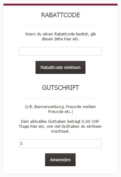 Gutschein-Hilfe Prozentbuch.ch