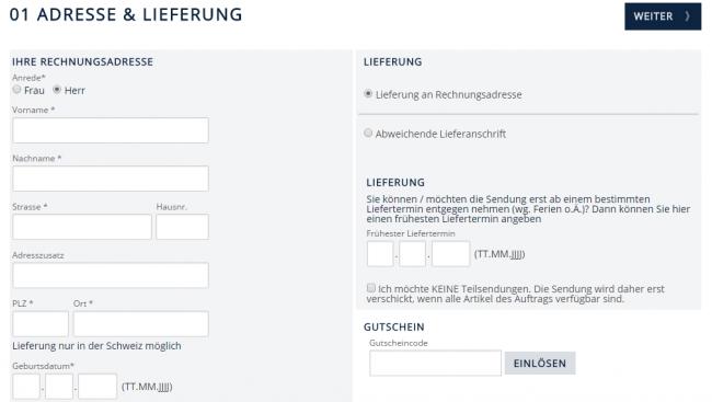Gutschein-Hilfe babista.ch