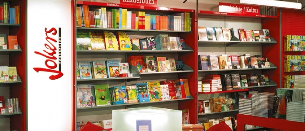 Jokers, wo kluge Leute gute Bücher kaufen