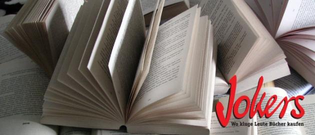 Ein einzelnes gutes Buch oder mehrere spannende Bücher, bei Jokers bist du immer richtig