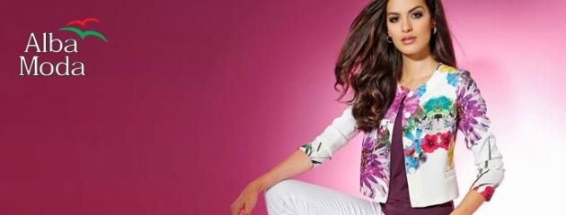 Erlebe exklusive Mode mit italienischem Flair online bei ALBA MODA!