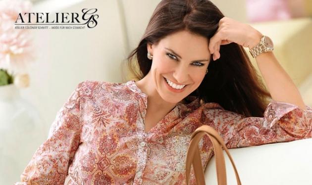Immer modisch aktuell und mit beliebig passender Form finden Sie exklusive Damenmode bei AtelierGS.