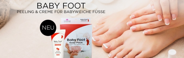 Baby Foot Peeling und Creme für Füße