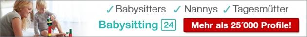 Babysitter, Nannys und Tagesmütter bei Babysitting24