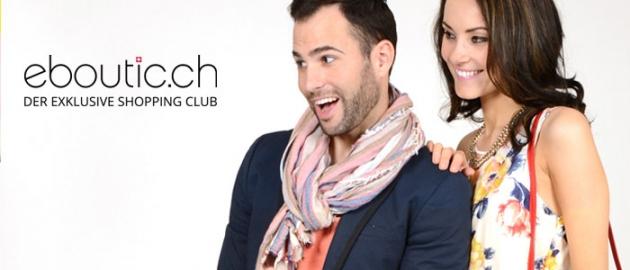 eboutic.ch ist der einzige Shopping Club, der eine grosse Auswahl in den verschiedensten Bereichen anbietet