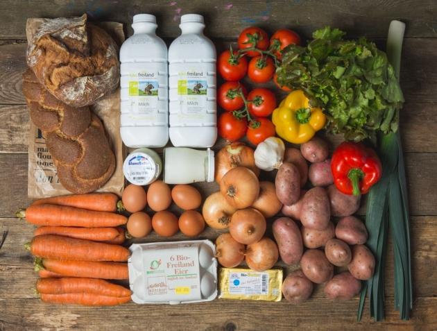 Lebensmittel von regionalen Bauern - bei Farmy.ch