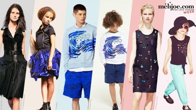 Sechs Models in Melijoe-Kleidung.