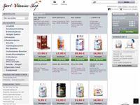 Screenshot von Sport-Vitamine-Shop
