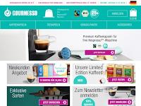 Screenshot von Gourmesso