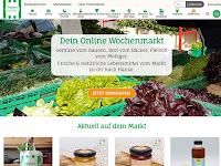 Screenshot von FreshMarket