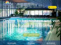 Screenshot von Alpamare.ch