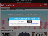 Screenshot von AllPosters.ch