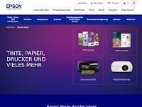 Screenshot von Epson-Store CH