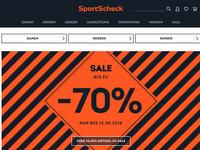 Screenshot von SportScheck