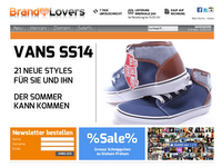 Screenshot von Brandlovers