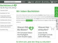 Screenshot von bachblueten.ch