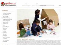 Screenshot von Spielhaus.ch