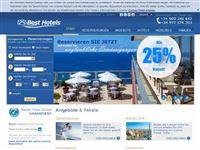 Screenshot von Best Hotels CH